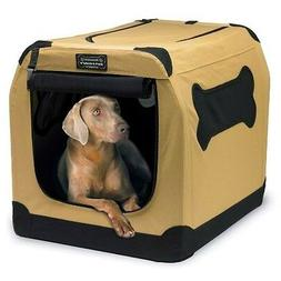 Portable Dog Crate Large Pet Carrier XL Animal Kennel Cushio