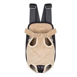 Ultrafun Portable Dog Front Carrier Backpack Legs Out & Brea