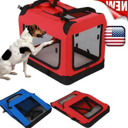 Portable Pet Carrier Soft Sided Large Cat Dog Comfort Bag Tr