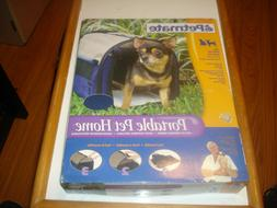 Petmate Portable Pet Home Carrier Miniature Dogs and Kittens