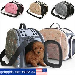 Portable Pet Small Dog Cat Sided Carrier Travel Tote Shoulde