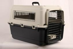 Portable Plastic Transport Crate Dog Air Travel Crate Carrie