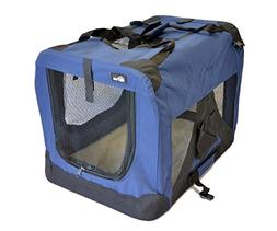 "topPets Portable Soft Pet Carrier - Medium: 24""x16""x16"" - Da"