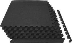 """Prosource Fit Extra Thick Puzzle Exercise Mat 3/4"""" or 1"""","""
