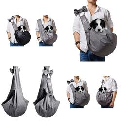 Artisome Reversible Medium Dogs Cats Sling Carrier Bag Purse