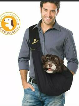 Furry Fido Reversible Pet Sling Carrier for Cats or Dogs up