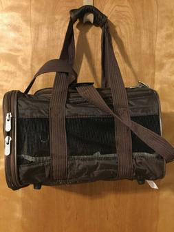 SHERPA Dog Carrier, Small Original Brown Pet Puppy Animal Tr