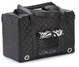 Sherpa Park Tote Black Pet Carrier