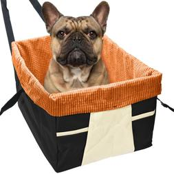 Skybox Dog Booster Seat Pet Carriers Bag For Cars With Belt