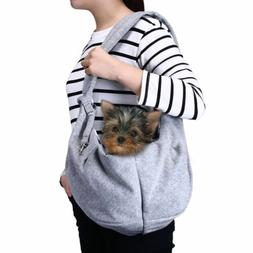 Small Dog Cat Carrier Sling Hands Free Pet Puppy Travel Tote