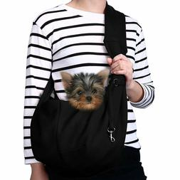 Small Dog Cat Carrier Sling Hands Pet Puppy Outdoor Travel B