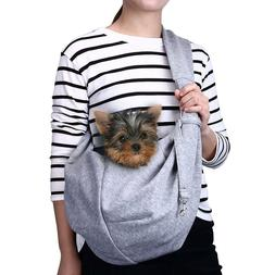 TOMKAS Small Dog Cat Ring Carrier Sling Hands Free Pet Puppy