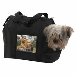 Small Dog Travel Bag Microfiber Show N Tell Pet Bag Carrier