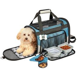 small pet carrier plus with seat belt