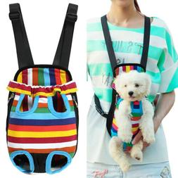Small Pet Puppy Dog Cat Carrier Backpack Front Net Bag Tote