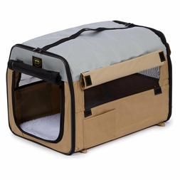Soft Dog Sided Pet Crate Carrier Portable Cat Travel Cage Ke