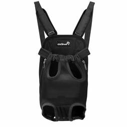 PAWABOO Soft Front Cat Dog Carrier Backpack Frontpack Travel