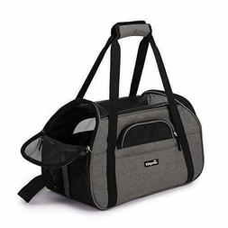 """Jespet Soft Pet Carrier for Small Dogs, Cats, Puppy, 17"""" Air"""
