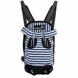 PAWABOO Soft Pet Front Cat Dog Carrier Backpack Travel Hikin