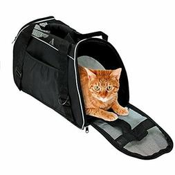 Soft Side Pet Carrier Travel Bag Small Dogs Cats Airline App