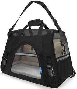 Oxgord Soft Sided Airline Approved Travel Pet Carrier - Medi
