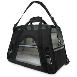Soft-Sided Carriers for Cats and Dogs Air-Plane Travel On-Bo