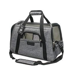 Living Express Soft Sided Cat Carrier Airline Approved-Folda