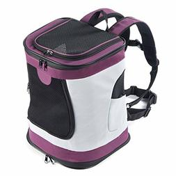 Pettom Soft Sided Cat Dog Carrier Should Bag Backpack for Pe