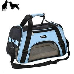 Soft-Sided Pet Carrier, Airline Approved,Low Profile Travel