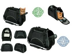 Soft Sided Pet Carrier Airline Approved Pet Travel Bags For