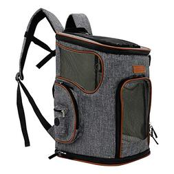ICOSPET Soft-Sided Pet Carrier Backpack for Small Dogs and C
