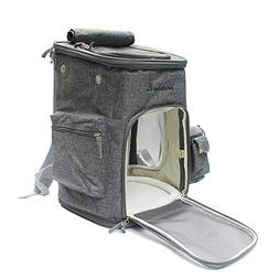 Leepets Soft Sided Pet Carrier Backpack for Cat and Small Do