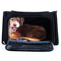 A4Pet Soft Sided Pet Carrier for Dogs and Cats
