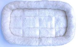 Soft Sided Pet Carrier Washable Fleece Travel Bed, Large by