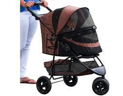 Pet Gear Special Edition NO-ZIP Pet Stroller - Up to 45Lbs -
