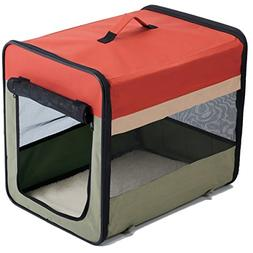 Favorite Soft-Side Vet Visit Travel Foldable Pet Carrier 36""