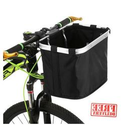 Sturdy Front Pet Dog Cat Bicycle Basket Carrier for Bike Sho