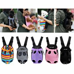 Summer Pet Dogs Cats Puppy Hoodies Backpack Adjustable Front