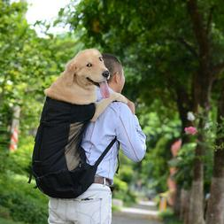 Travel Dog Bag Carrier Backpack for L/M/Small Dogs Breathabl