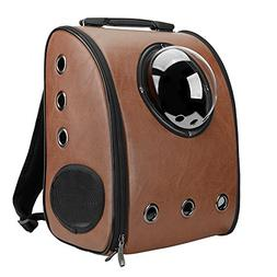Traveler Bubble Window Backpack Pet Carriers For Cats And Do