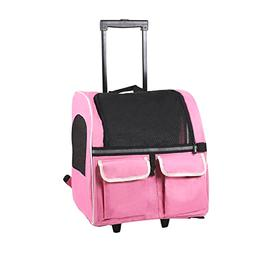 Traveling Pet Carrier/Back Pack/Luggage On Wheels Airline Ap