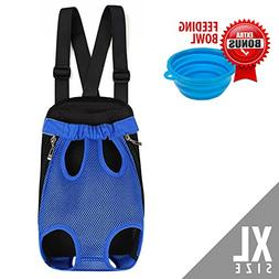 Dog Carrier, Comfortable Legs Out Dog Carrier Backpack, Han