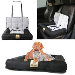 Waterproof Pet Dog Booster Car Seat Safe Basket Travel Auto